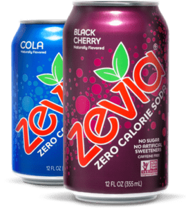 In online soda sales, Zevia zips past Pepsi and is second only to Coke