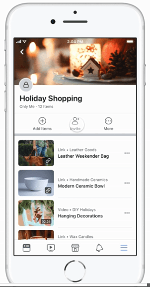 """""""Facebook's latest move makes it easier for shoppers to share gift ideas"""" is locked Facebook's latest move makes it easier for shoppers to share gift ideas"""