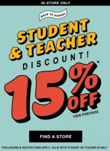 How student discounts factor into online retailers' back-to-school strategy